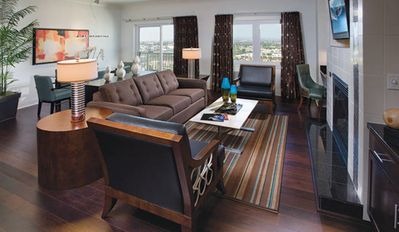 Photo for Gorgeous 3 Bedroom Presidential Suit at Wyndham Anaheim a walk to the Disneyland