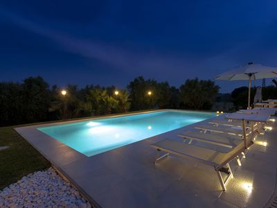 Photo for Private Villa with Pool, beach 6Km, wi-fi, Senigallia, near the Conero, Marche