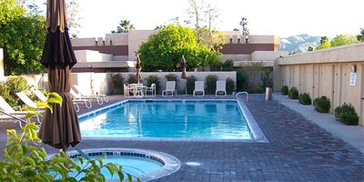 Photo for Downtown Palm Springs 2BR/2Bth Condo. All Inclusive. Near golf, tennis, casino.