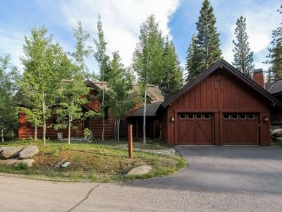 Photo for Spectacular luxury resort chalet with private hot tub and large outdoor deck - Family Friendly