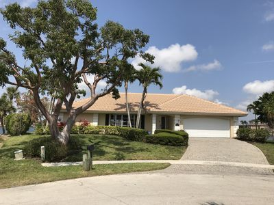 Photo for Walk to Beach, Gorgeous Waterfront Views on Tarpon Bay, Big HDTV, Wifi