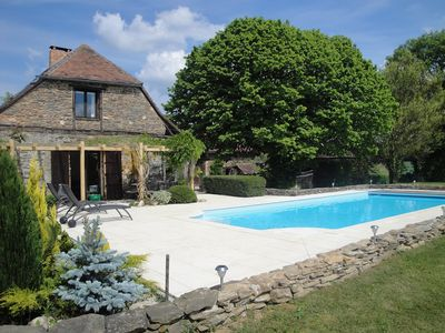 Photo for Beautiful 250 yr old Farmhouse, Private Pool with Stunning Views & 2 Acre Garden