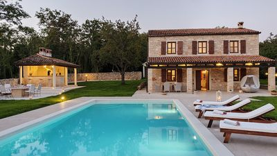 Photo for Secluded  Villa, large refreshing  pool, tranquility, family&pet friendly