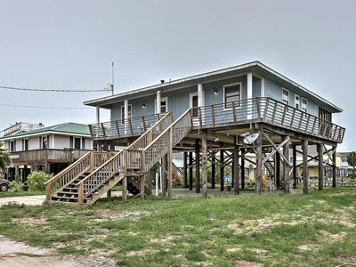 Photo for Waterfront Dauphin Island Home w/ Deck & Boat Dock