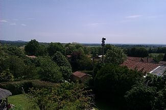 Panoramic view from bedroom window