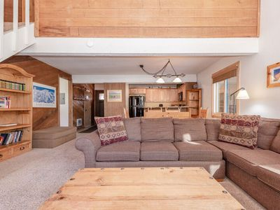 Photo for Big Mammoth Creek Twnhm #52 -Updated 2 bedrms + Loft with 2.5 baths. Steps town shuttle stop