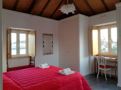 Photo for Intimate bedroom in 314 years old house, completely restored