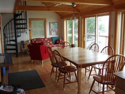 Photo for Private Lakefront House  w/Spectacular Views of Prestine  Franklin Pierce Lake