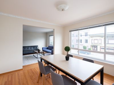 Photo for Spacious 3 bed 2 bath Walk to Golden Gate Park