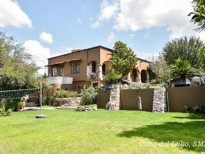 Photo for Casa del Lago. Build and decorated by well known San Miguel Artist.
