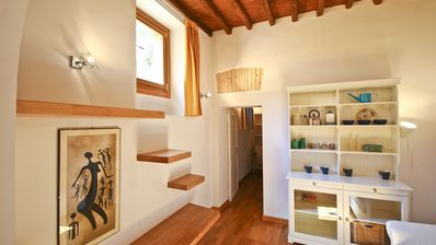 Photo for Elegant apartment located in Via della Scala in the heart of Trastevere district