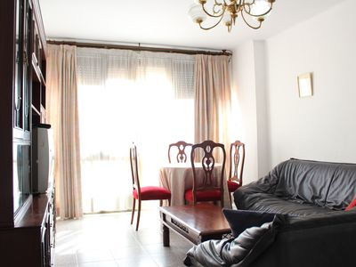 Photo for Enjoy the BEACH, historic CENTER and La FERIA de Malaga on this great apartment