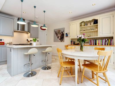 Photo for Spacious house with private garden, sleeps 7 in Clapham near the station (Veeve)