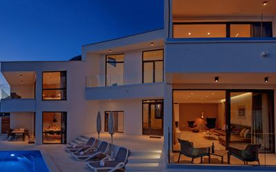 Photo for VILLA BELLEVUE - new modern luxury villa with infinity pool & breathtaking view