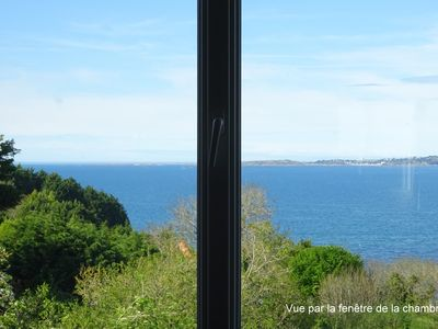 Photo for Cozy furnished with panoramic views of Lannion Bay