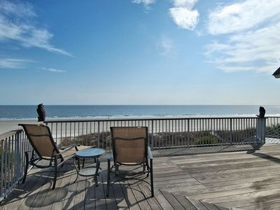 Photo for Beautiful OCEAN FRONT 6 Bedroom 5.5 bath Home located in North Forest beach on Hilton head Island!