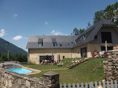 Photo for 2 Granges 24 pers gîtes rental Pyrenees Arreau Loudenvielle Cycling swimming pool