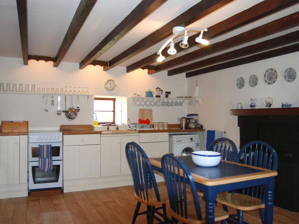 Kitchen In Stable Cottage