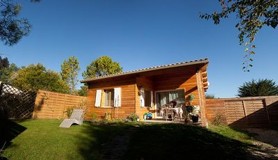 Photo for House wooden chalet - Les Mathes - Charente-Maritime