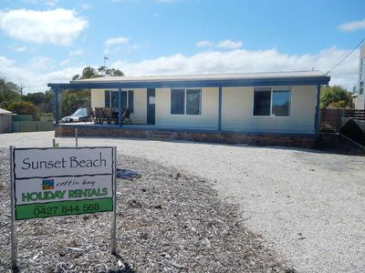 Photo for Sunset Beach, Coffin Bay - named appropriately because the sunsets from the front deck are superb