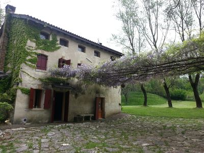 Photo for Rustico in an oasis of silence in the hills of Prosecco two steps from Venice
