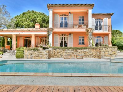 Photo for The Riviera house between Golf and Beach in the heart of the Gulf of Saint Tropez