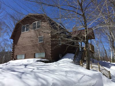Photo for Three story log cabin style home 10 minute drive from Sugarloaf Mountain