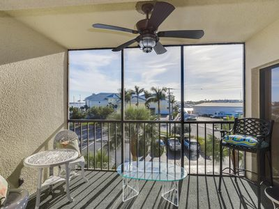 Photo for 2nd-story waterfront condo w/ shared pool & hot tub and private balcony w/view