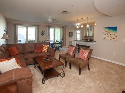 Photo for B426 Welcome Home: 3 BR / 2 BA condominium in Virginia Beach, Sleeps 8