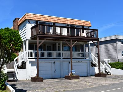 Photo for Side by side duplex with a/c- Right across the street from the beach