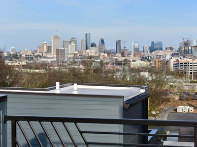Photo for Brand New Music City Stunner with Private Rooftop and Amazing City Views!