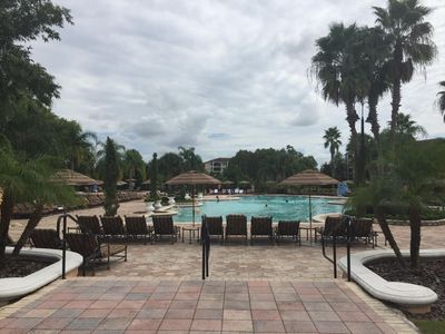 Photo for Spacious Suite 3 bed / 3 bath. Few min from Disney Parks with Shuttle To Disney