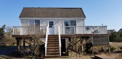 Photo for Beautiful beach house on Dune Road with private beach