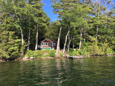 Secluded, yet only 3 miles to downtown Wolfeboro!