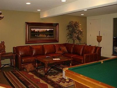 Photo for April Blowout!! ONLY $299/nt 1/2 mile town, hot tub, fireplace, sleeps 10!
