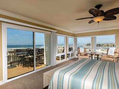 Spectacular 3 BR Panoramic Ocean & Harbor View Penthouse at NCV! 2 Pkg Spaces
