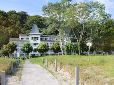 Photo for SES27 - apartment right on the beach, balcony with sea views, Wi-Fi - Villa Seeschloss (beach promenade Binz)