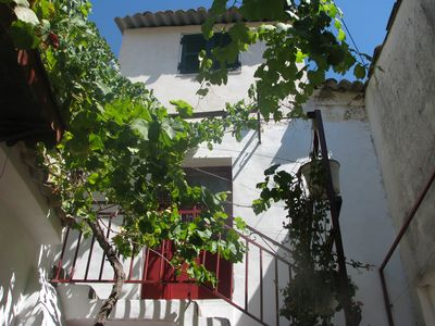 Photo for Traditional house, Village near relax-beach Shops Country-walks  near Corfu town
