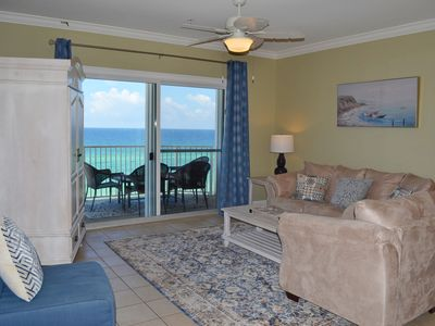 Photo for Crystal Dunes 505 ~ stunning beachfront vacation condo on the Gulf