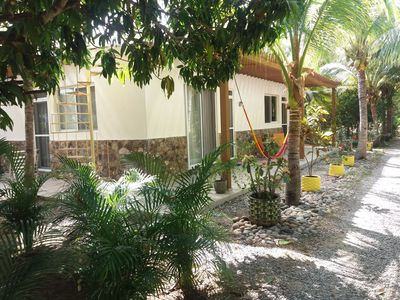 Photo for Bungalow between lagoon and ocean - perfect for watersports