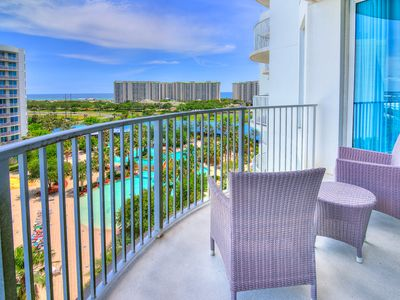 Photo for ☀Palms Resort 2805 Jr. 2BR☀Aug 23 to 25 $571 total!☀Gulf & Pool Views- FunPass!