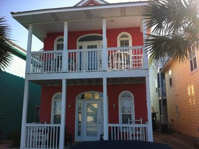 Photo for Beautiful 2 Bedroom Townhome Steps from the Beach!