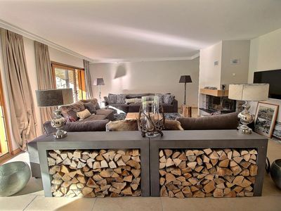 Photo for Very luxurious apartment mountain style for 10 persons, 4 bedrooms, 3 bathrooms, private laundry, wi