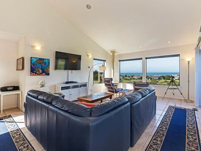 Photo for Pet friendly house on Meadow with ocean view, hot tub & telescope- Casa Del Mar