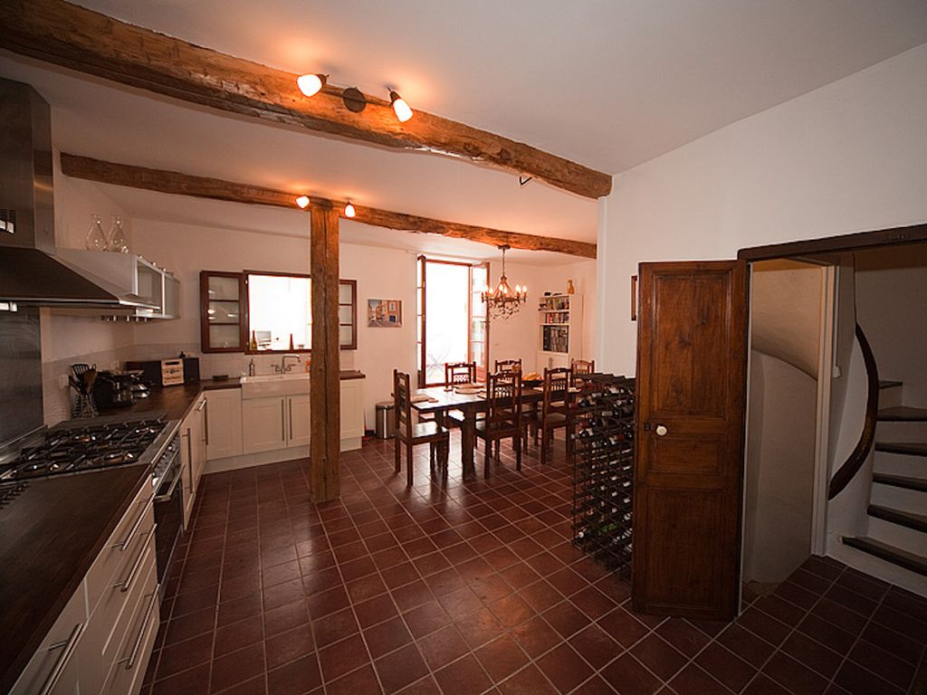 Unique Renovated 19th Century Village French House - walk to shops & river