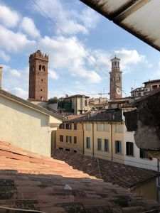 Photo for Completely renewed apartment with balcony and view on Verona's towers