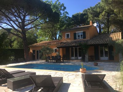 Photo for Magnificent villa with swimming pool located at 5mn of the Gulf of Saint Tropez