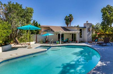Photo for Sunny Times in Palm Springs a completely remodeled pool.