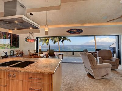 Photo for Beautiful Fully Remodeled 2 Bedroom Oceanfront Condo Makena Surf F307