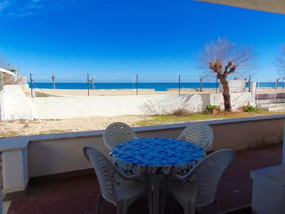 Photo for M263 - Marcelli, three-room apartment with porch facing the sea